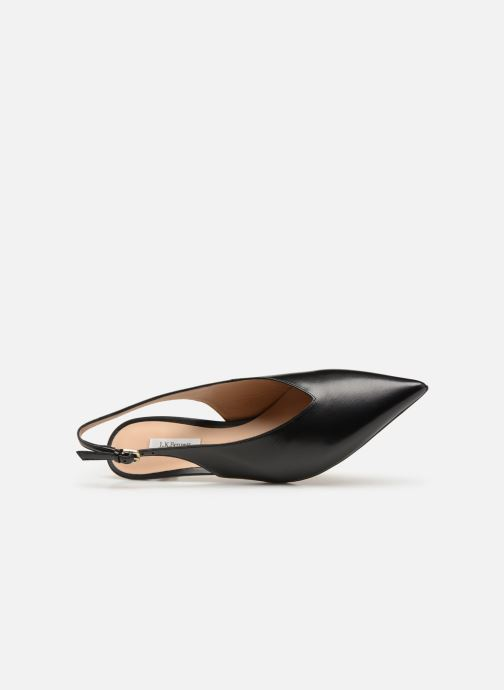Zapatos de tacón L.K. Bennett Livia Negro vista lateral izquierda
