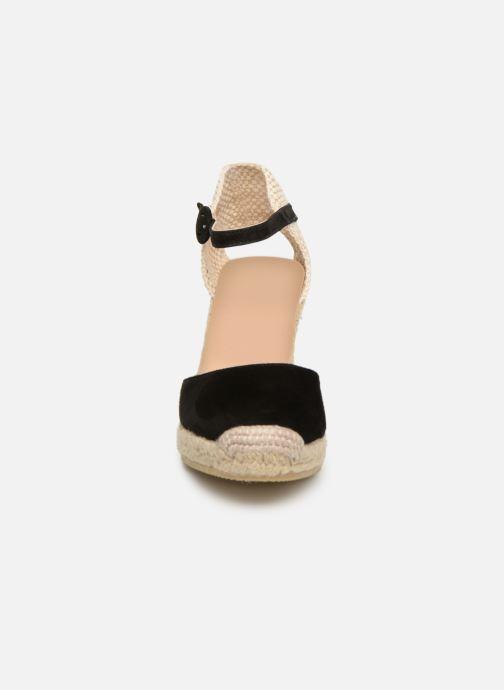 Espadrilles L.K. Bennett Harrison Noir vue portées chaussures