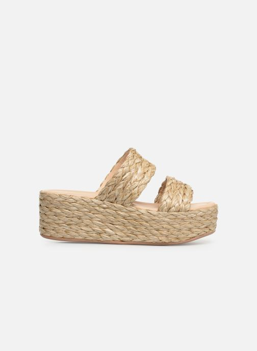 Espadrilles L.K. Bennett Willa Beige back view