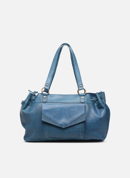 Handbags Pieces BETH LEATHER BAG Blue detailed view/ Pair view
