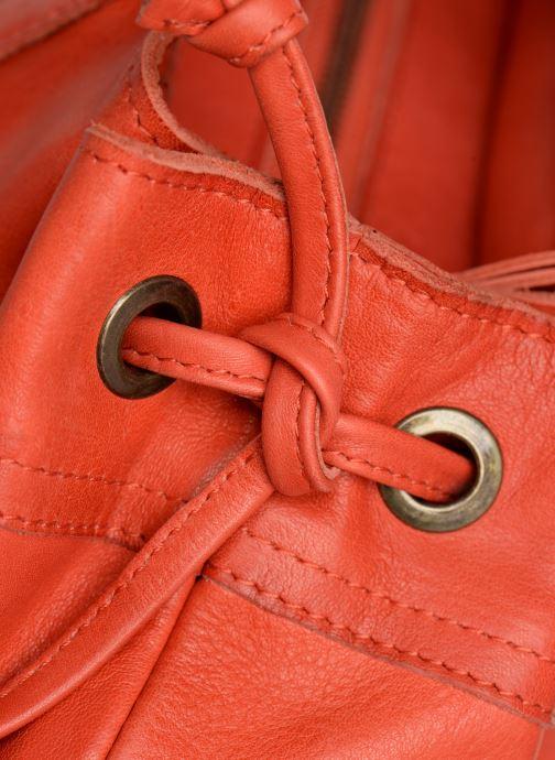 Handtassen Pieces BETH LEATHER BAG Roze links