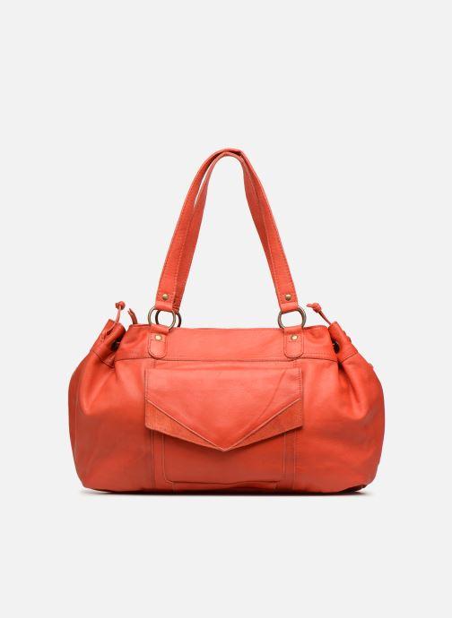 Handtassen Pieces BETH LEATHER BAG Roze detail