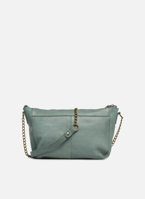 Handbags Pieces BETH LEATHER SMALL CROSSBODY Blue front view