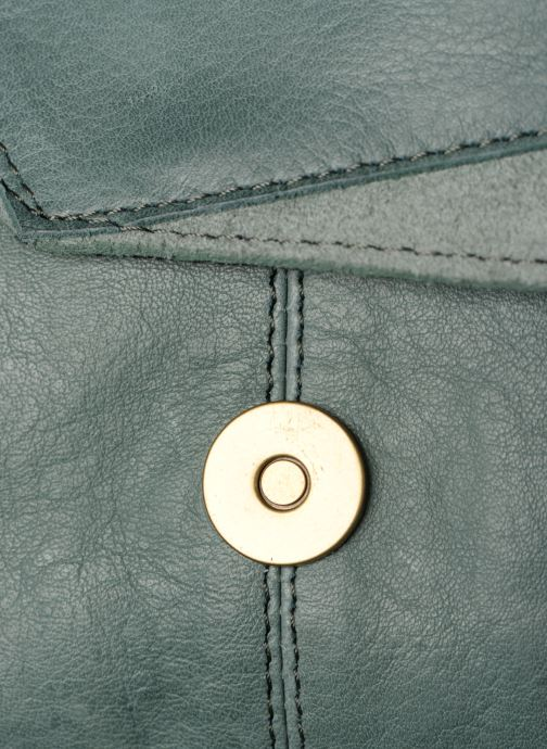 Sacs à main Pieces BETH LEATHER SMALL CROSSBODY Bleu vue gauche