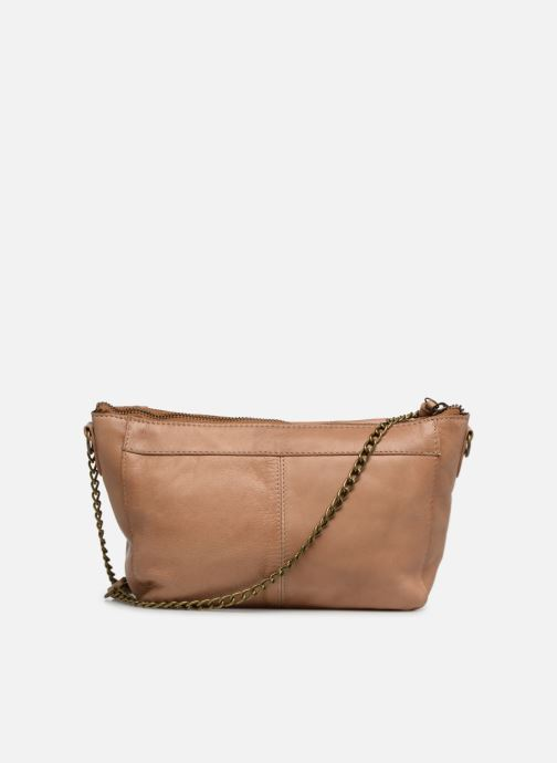 Sacs à main Pieces BETH LEATHER SMALL CROSSBODY Marron vue face