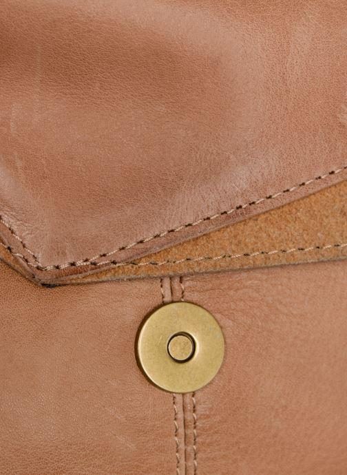Bolsos de mano Pieces BETH LEATHER SMALL CROSSBODY Marrón vista lateral izquierda