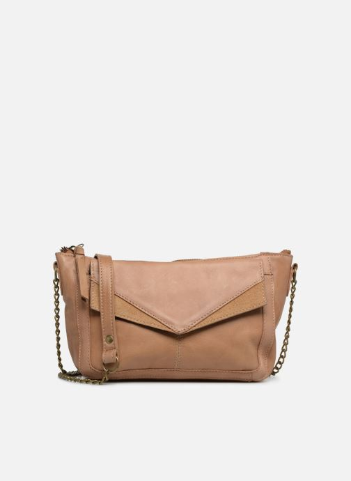 Bolsos de mano Pieces BETH LEATHER SMALL CROSSBODY Marrón vista de detalle / par