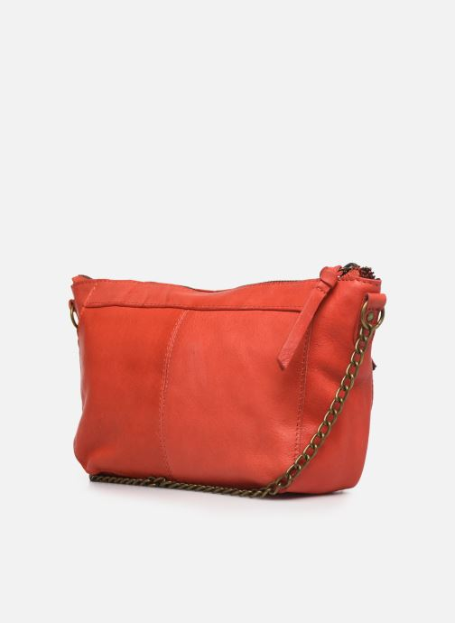 Bolsos de mano Pieces BETH LEATHER SMALL CROSSBODY Rosa vista lateral derecha