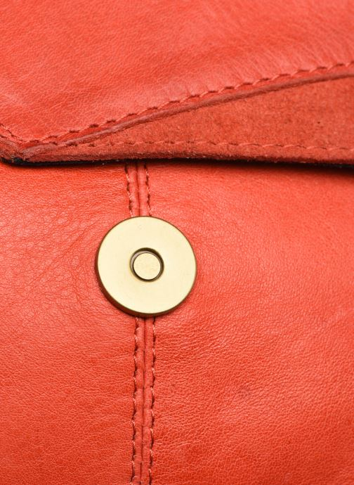 Handtassen Pieces BETH LEATHER SMALL CROSSBODY Roze links