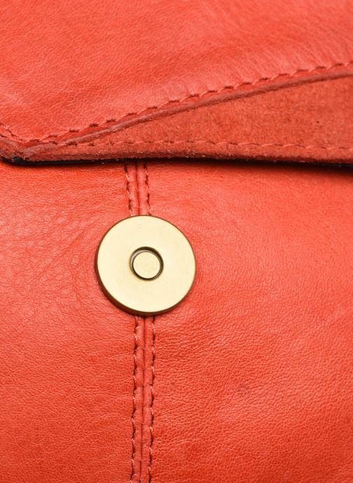 Handtaschen Pieces BETH LEATHER SMALL CROSSBODY rosa ansicht von links