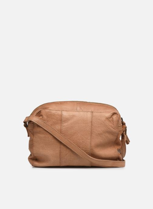 Sacs à main Pieces BETHANY LEATHER CROSSBODY Marron vue face