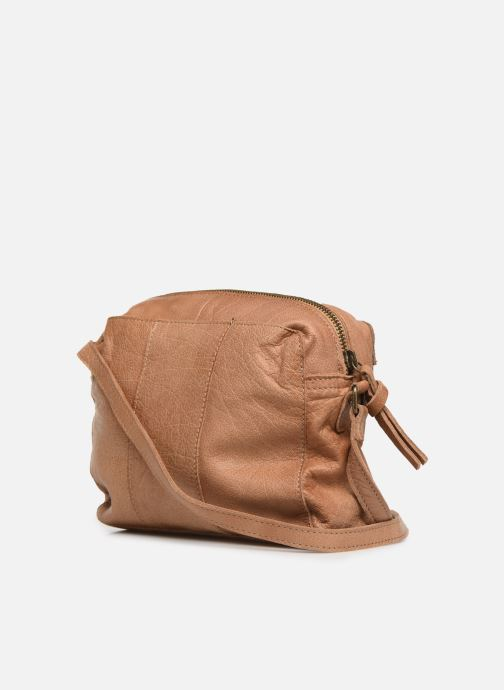Sacs à main Pieces BETHANY LEATHER CROSSBODY Marron vue droite