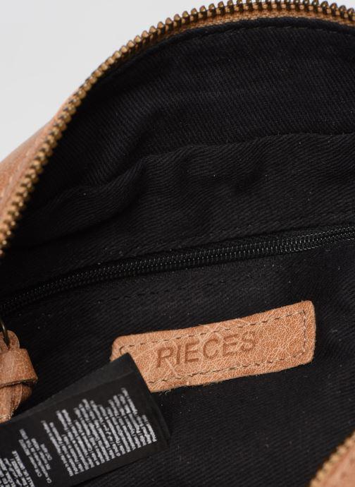 Handtassen Pieces BETHANY LEATHER CROSSBODY Bruin achterkant