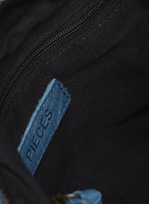 Sacs à main Pieces BETHANY LEATHER CROSSBODY Bleu vue derrière