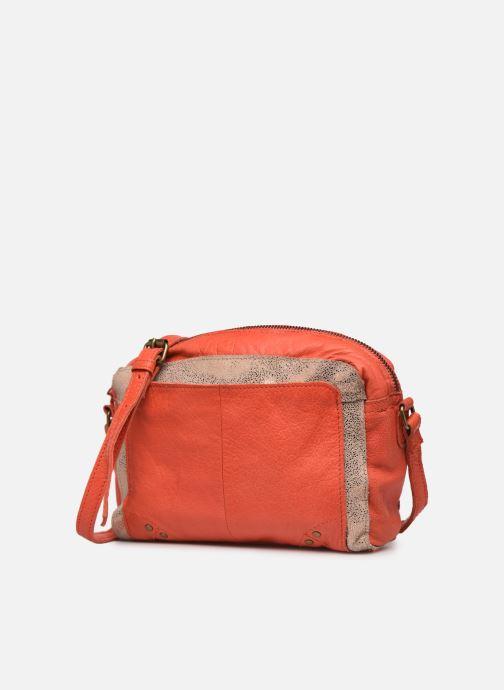 Handtaschen Pieces BETHANY LEATHER CROSSBODY rot schuhe getragen