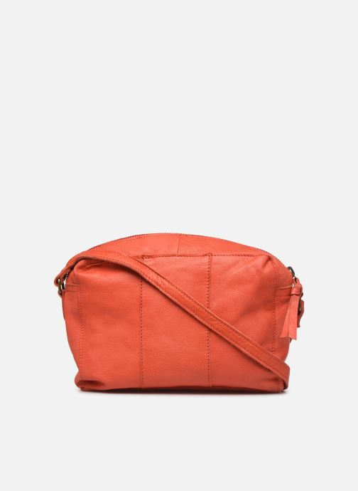 Handtaschen Pieces BETHANY LEATHER CROSSBODY rot ansicht von vorne
