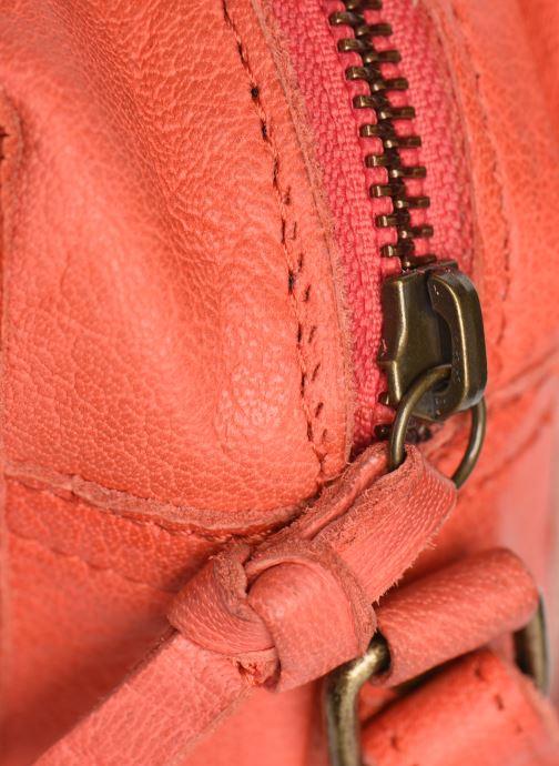 Handtaschen Pieces BETHANY LEATHER CROSSBODY rot ansicht von links