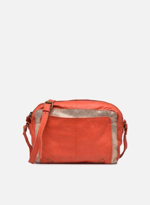 Handtaschen Pieces BETHANY LEATHER CROSSBODY rot detaillierte ansicht/modell