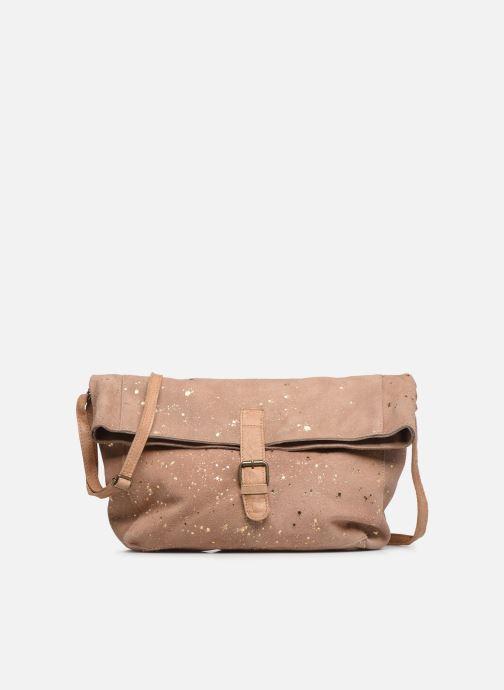 Handtaschen Pieces BRENDA LEATHER CROSSBODY gold/bronze detaillierte ansicht/modell