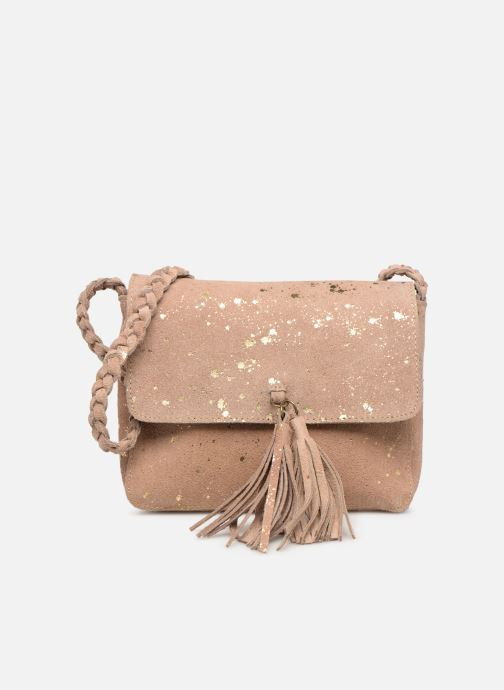 Handbags Pieces BRANDY SUEDE CROSSBODY Bronze and Gold detailed view/ Pair view