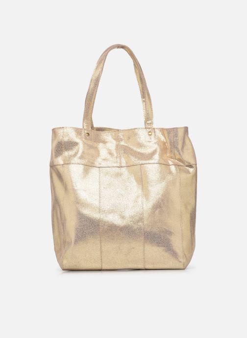 Handtaschen Pieces BRANDY SUEDE SHOPPER beige detaillierte ansicht/modell