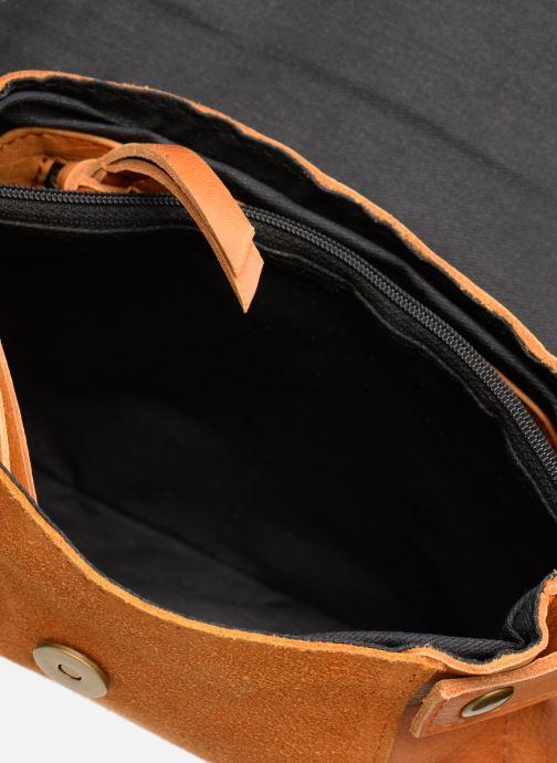 Borse Pieces ISAURA LEATHER SMALL CROSSBODY Marrone immagine posteriore