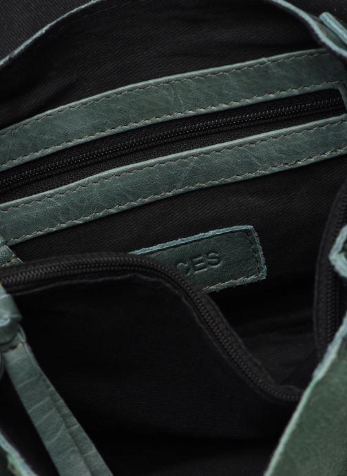 Handtaschen Pieces ISAURA LEATHER SMALL CROSSBODY grün ansicht von hinten