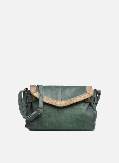Bolsos de mano Pieces ISAURA LEATHER SMALL CROSSBODY Verde vista de detalle / par