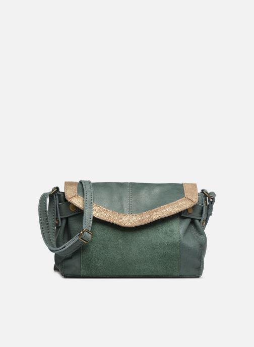 Handtaschen Pieces ISAURA LEATHER SMALL CROSSBODY grün detaillierte ansicht/modell
