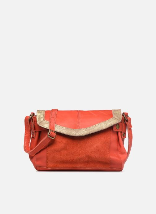 Bolsos de mano Pieces ISAURA LEATHER SMALL CROSSBODY Rosa vista de detalle / par