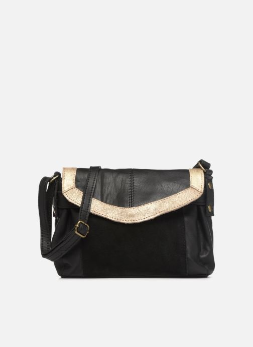 Bolsos de mano Pieces ISAURA LEATHER SMALL CROSSBODY Negro vista de detalle / par