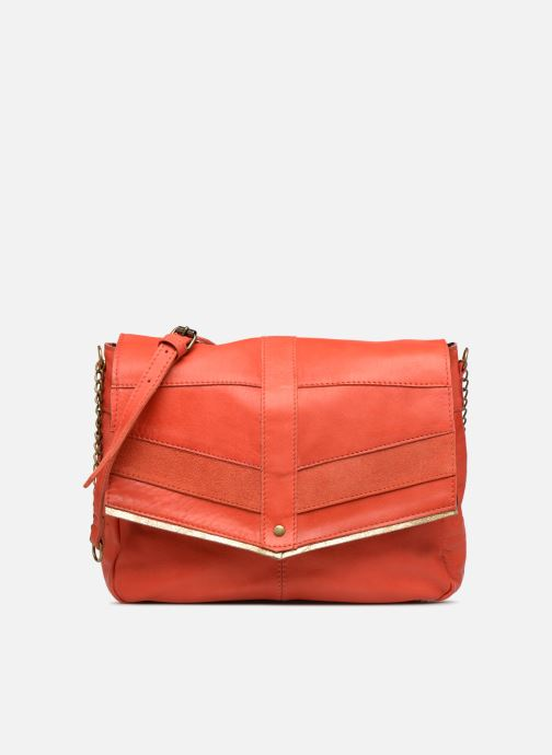 Bolsos de mano Pieces FRANCES LEATHER LARGE CROSSBODY Rosa vista de detalle / par