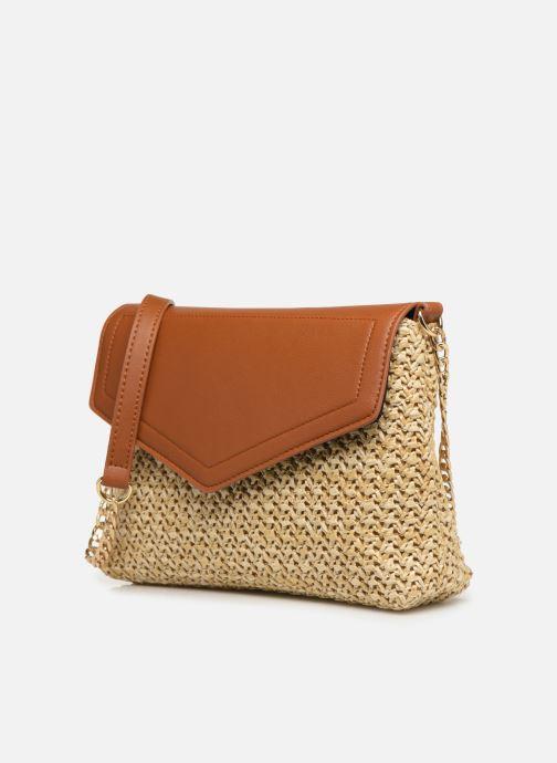 Handtaschen Pieces BILANA CROSSBODY braun schuhe getragen