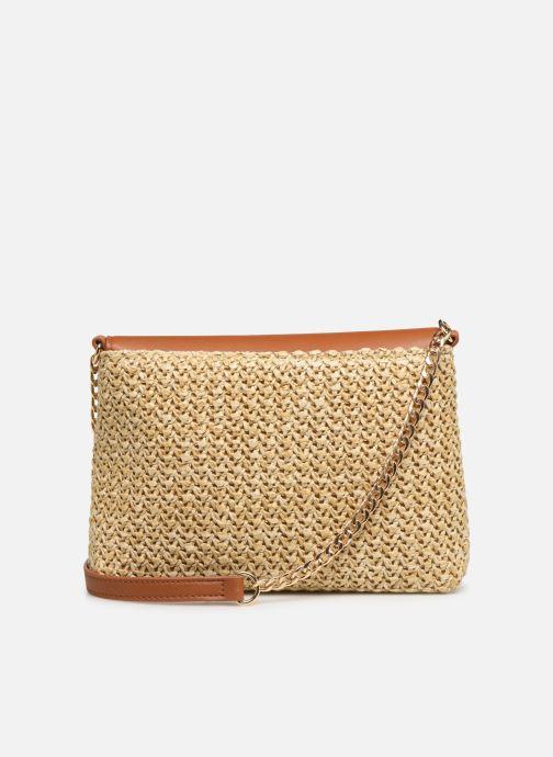 Handtaschen Pieces BILANA CROSSBODY braun ansicht von vorne