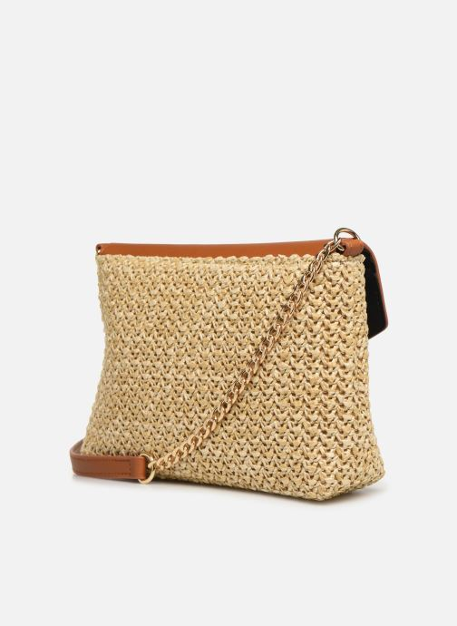 Handtaschen Pieces BILANA CROSSBODY braun ansicht von rechts