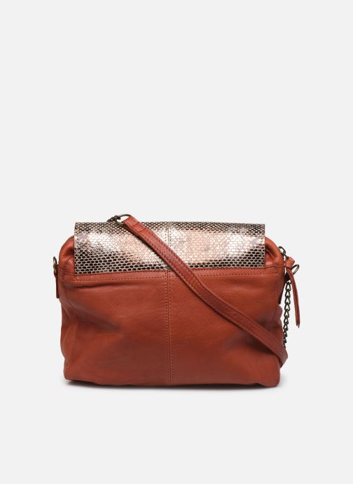 Sacs à main Pieces SELVA LEATHER CROSSBODY Rouge vue face