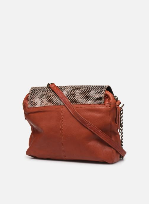 Sacs à main Pieces SELVA LEATHER CROSSBODY Rouge vue droite