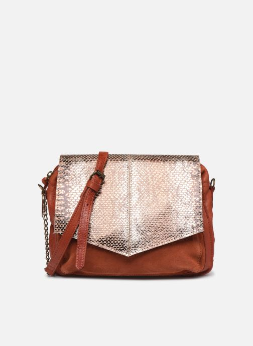 Sacs à main Pieces SELVA LEATHER CROSSBODY Rouge vue détail/paire