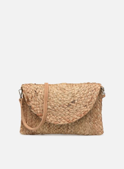Sacs à main Pieces BECKY STRAW CROSSBODY Beige vue détail/paire