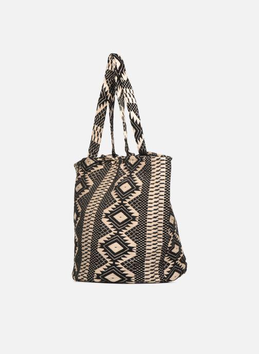 Handbags Pieces BESS SHOPPER Black model view