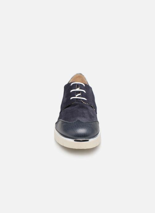 Chaussures à lacets Georgia Rose Radhia soft Bleu vue portées chaussures