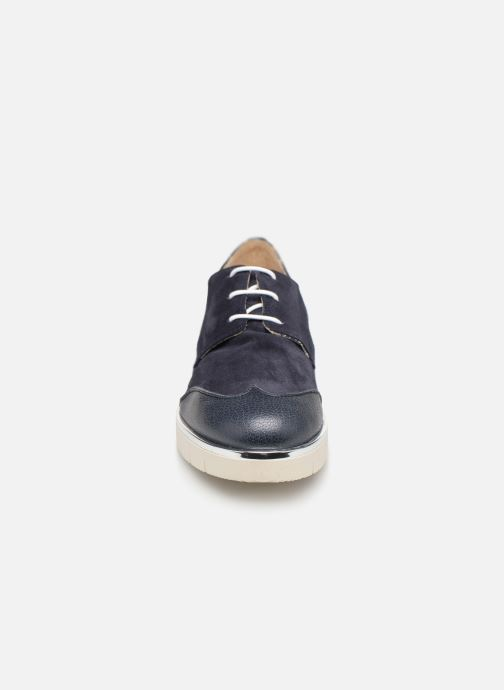 Snörade skor Georgia Rose Radhia soft Blå bild av skorna på