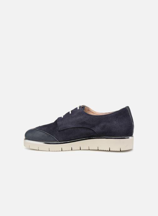 Chaussures à lacets Georgia Rose Radhia soft Bleu vue face