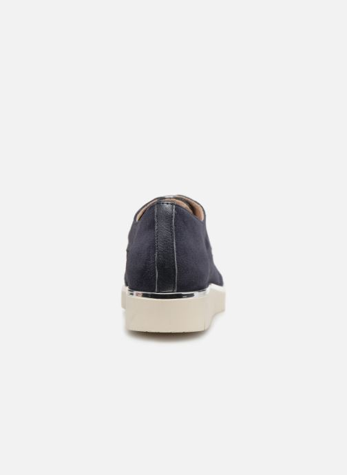 Chaussures à lacets Georgia Rose Radhia soft Bleu vue droite