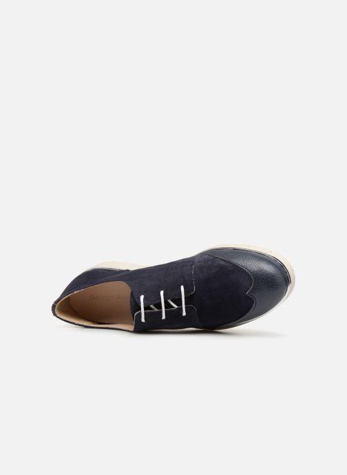 Chaussures à lacets Georgia Rose Radhia soft Bleu vue gauche