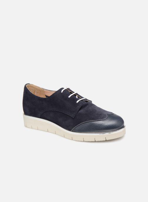 Chaussures à lacets Georgia Rose Radhia soft Bleu vue détail/paire