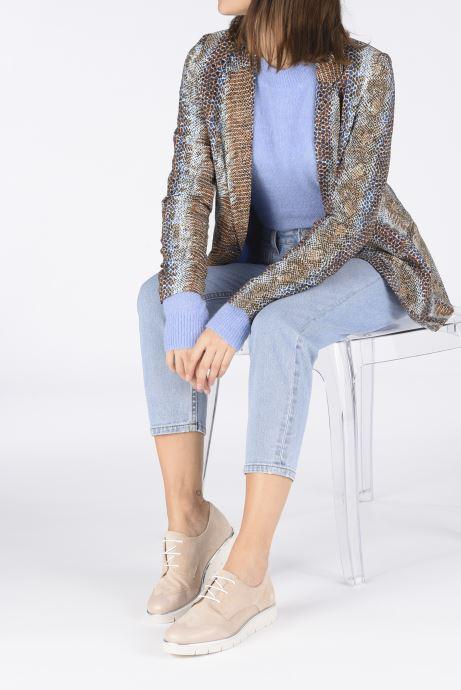 Chaussures à lacets Georgia Rose Radhia soft Beige vue bas / vue portée sac