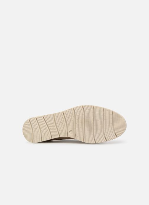 Chaussures à lacets Georgia Rose Radhia soft Beige vue haut