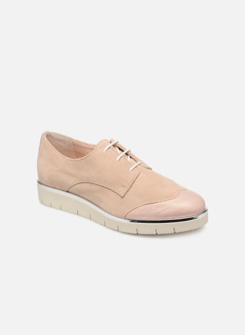 Chaussures à lacets Georgia Rose Radhia soft Beige vue détail/paire