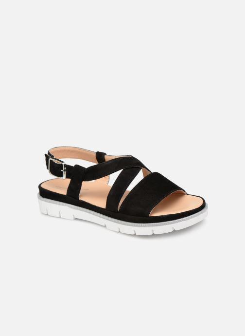 Sandales et nu-pieds Georgia Rose Rocca soft Noir vue détail/paire